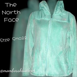 Fuzzy The North Face Full Zip Jacket With Hood